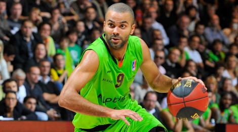tony parker asvel basket