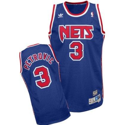Adidas New Jersey Nets Drazen Petrovic Soul Swingman Road Jersey b38aa7ae2
