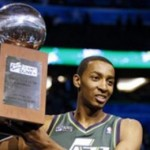 Jeremy Evans wins 2012 Slam Dunk Contest