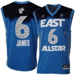 adidas LeBron James 2012 East All-Star Replica Jersey - Royal Blue