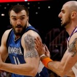 nikola pekovic vs phoenix suns