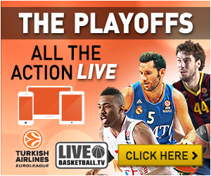 Watch Turkish Airlines Euroleague Playoffs LIVE