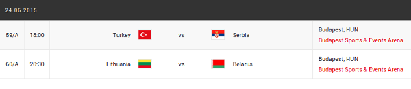 eurobasket women quarter-finals day 1