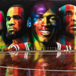 tribute to nba starts by eduardo kobra