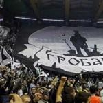 partizan fans pionir belgrade
