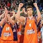 valencia basket celebrates finals
