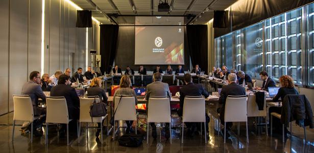 euroleague basketball meeting